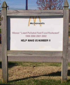 McDonald's Sign Prank