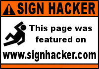 This page was featured on www.signhacker.com