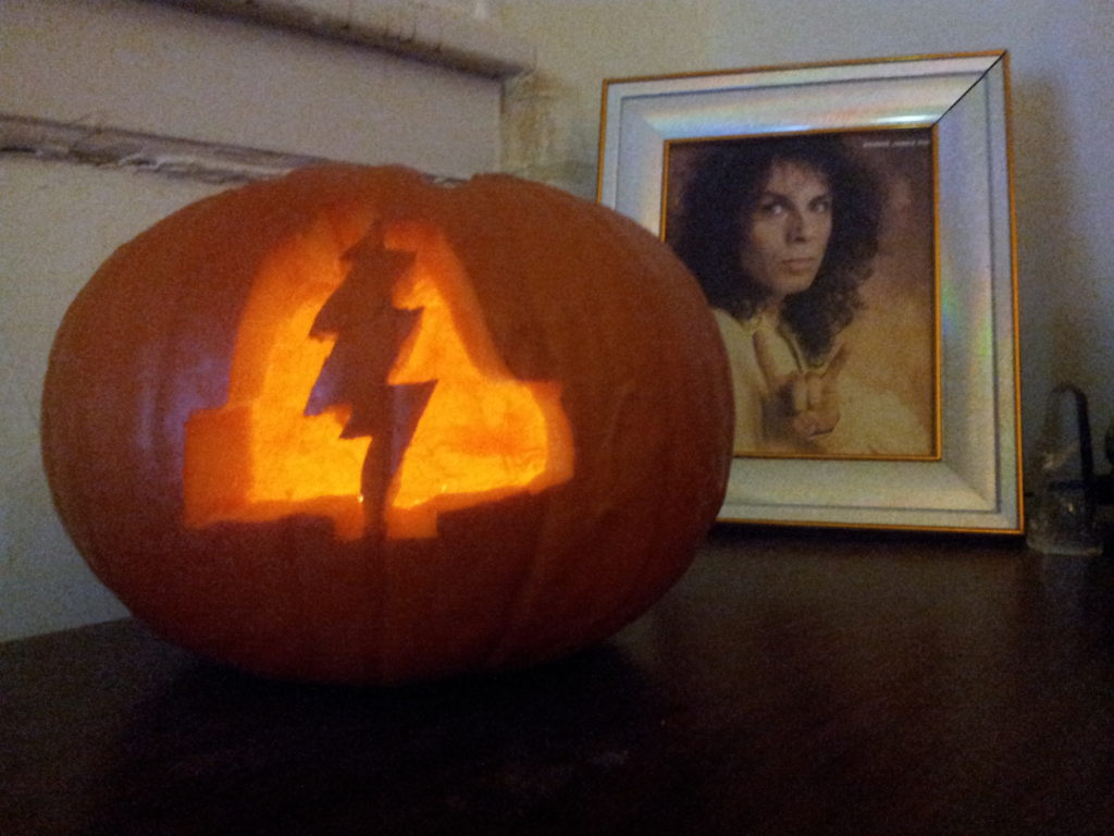 One of 2015's most beautiful PLA pumpkins, sent to us by Nick