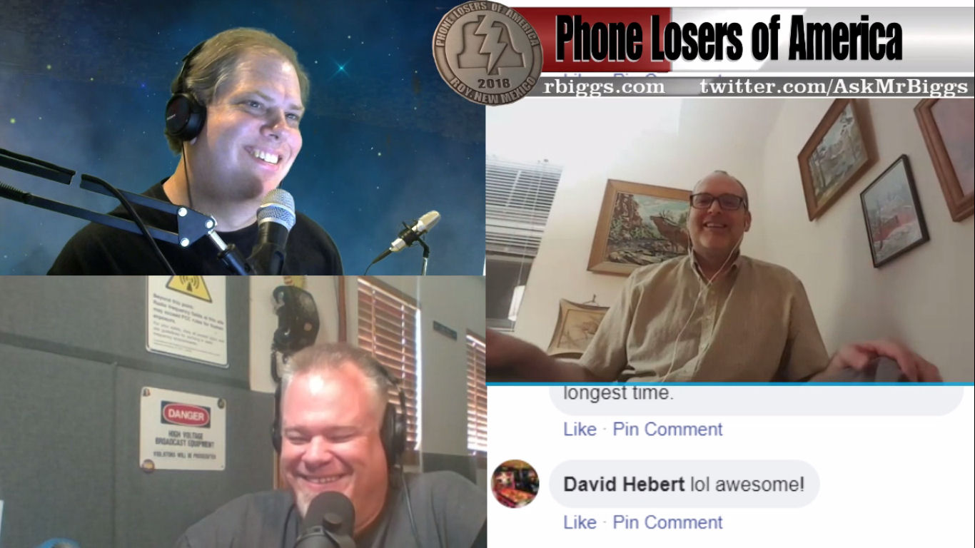 Hang Up The Phone Episode 8 – Ask Mr. Biggs and Roger